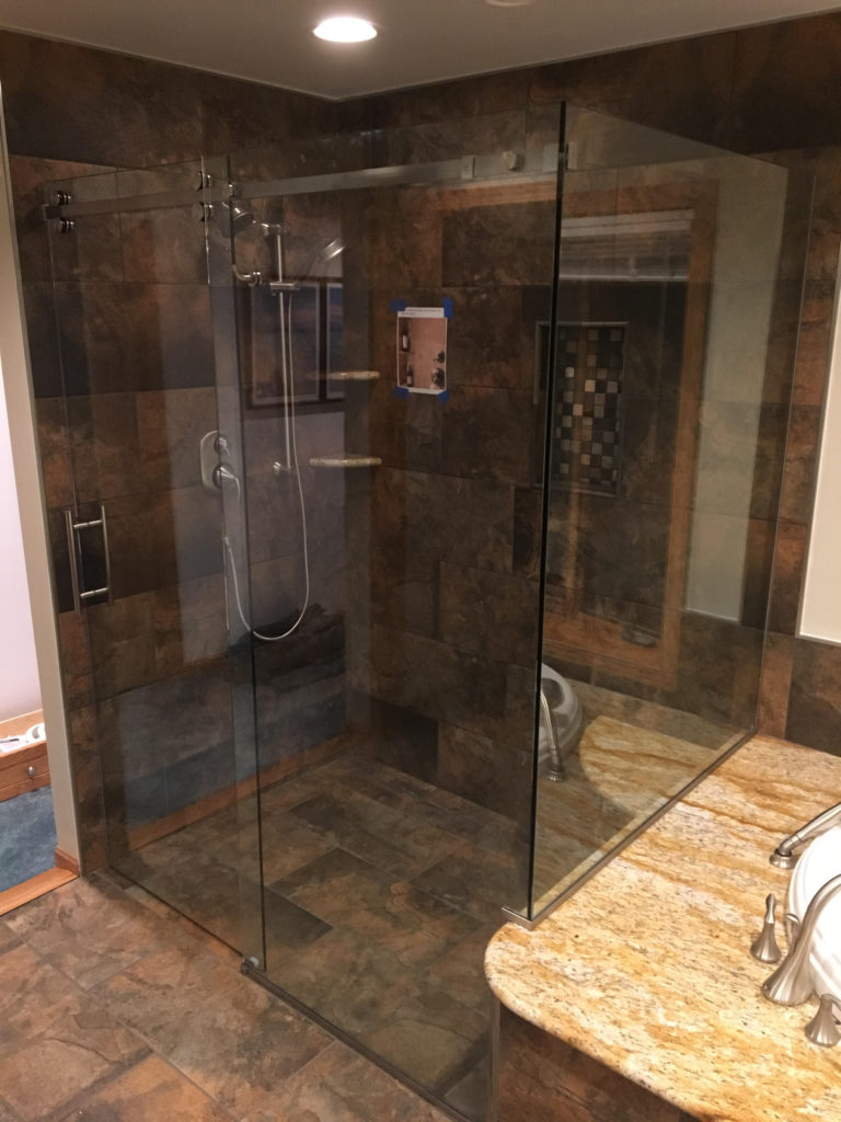 custom door serenity frameless crl watch enclosure sliding cr youtube hardware shower laurence